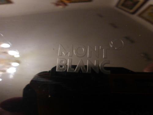 caneta tinteiro mont blanc bordô original na caixa