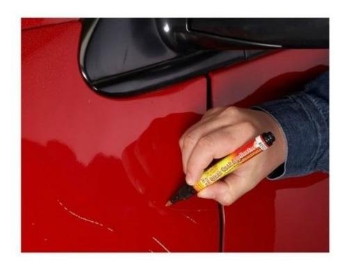 caneta tira risco retoque de carro e moto 2 ponta fix it pro