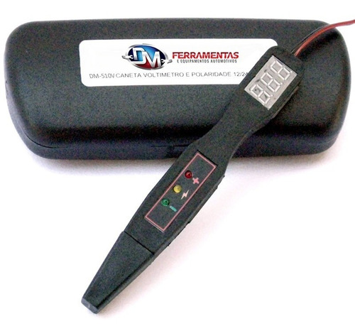 caneta voltímetro, ms e polaridade (digital) dm ferramentas