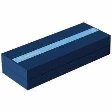caneta  waterman expert 3 aço inoxidável tinta azul