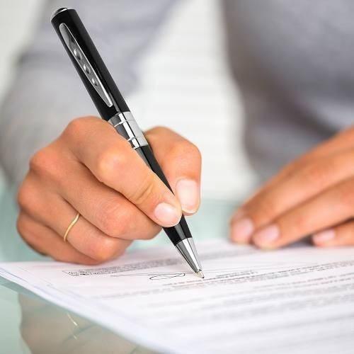 canetas com camera oculta caneta espi escondida que 16gb