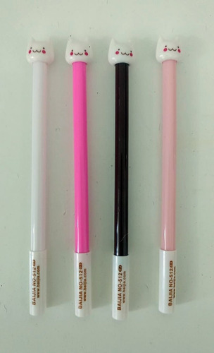 canetas de gatinho