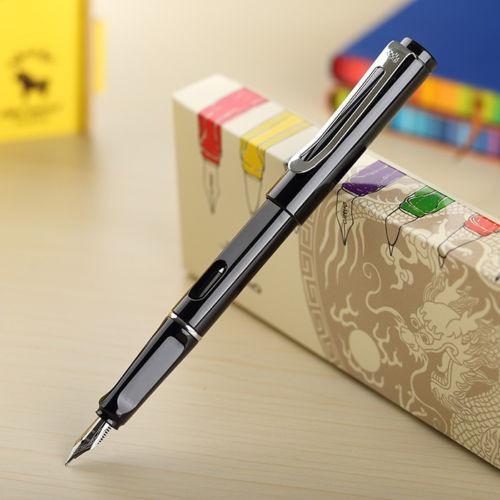 canetas tinteiro kaiduoli/ jinhao 599+estojo+caneta brinde