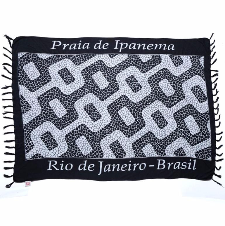 7485a2eaeb1b Canga Praia Ipanema Toalha Decoração - Menor Preço! - R$ 39,90 em ...