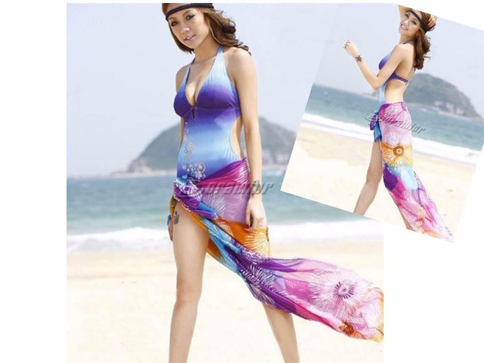 Canga sa da de praia piscina linda estampa len o toalha for Piscina fum d estampa