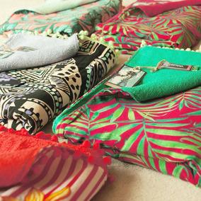 0d4d2c357 Canga Atoalhada Kit - Cangas de Praia Femininos com o Melhores Preços no  Mercado Livre Brasil