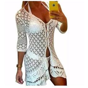 6aef82830 Blusa Para Colocar Em Cima Do Vestido Tamanho G - Moda Praia no Mercado  Livre Brasil