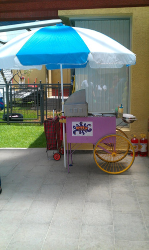 canguil algodón azúcar granizados hot dogs fiestas infantile