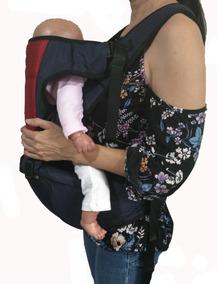 Cangurera Ergonómica Para Bebés Fular Elástico Ajustable Color Gris Infantino