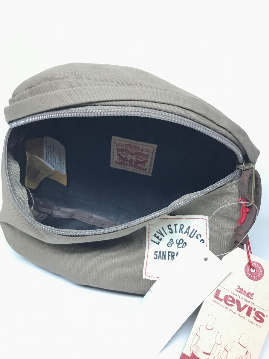cangurera bolsa levis resistente de nylon muy genial verde. Cargando zoom. 17cf8321826