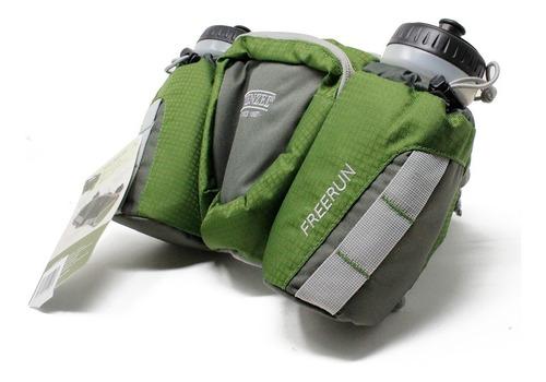 cangurera cinturon con 2 botellas camping wenzel 25509fg
