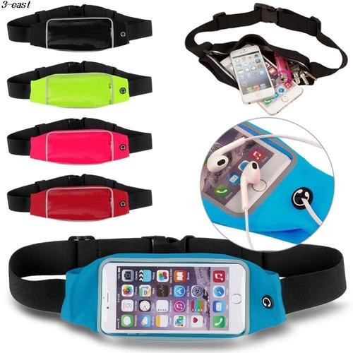 cangurera cinturon para correr ciclismo porta celular iphone
