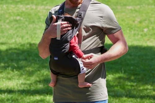 cangurera de bebe chicco ergonomico easyfit
