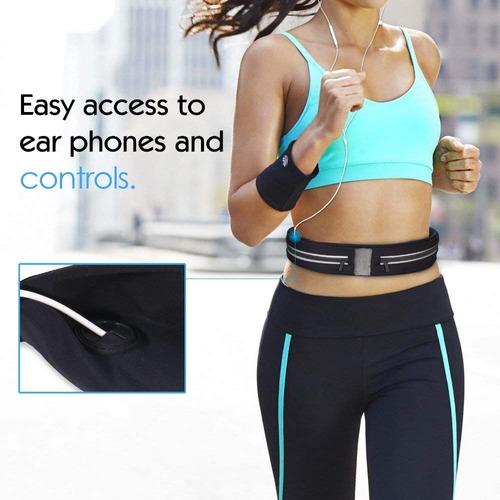 cangurera deportiva ultra ligera correr llaves celular gym
