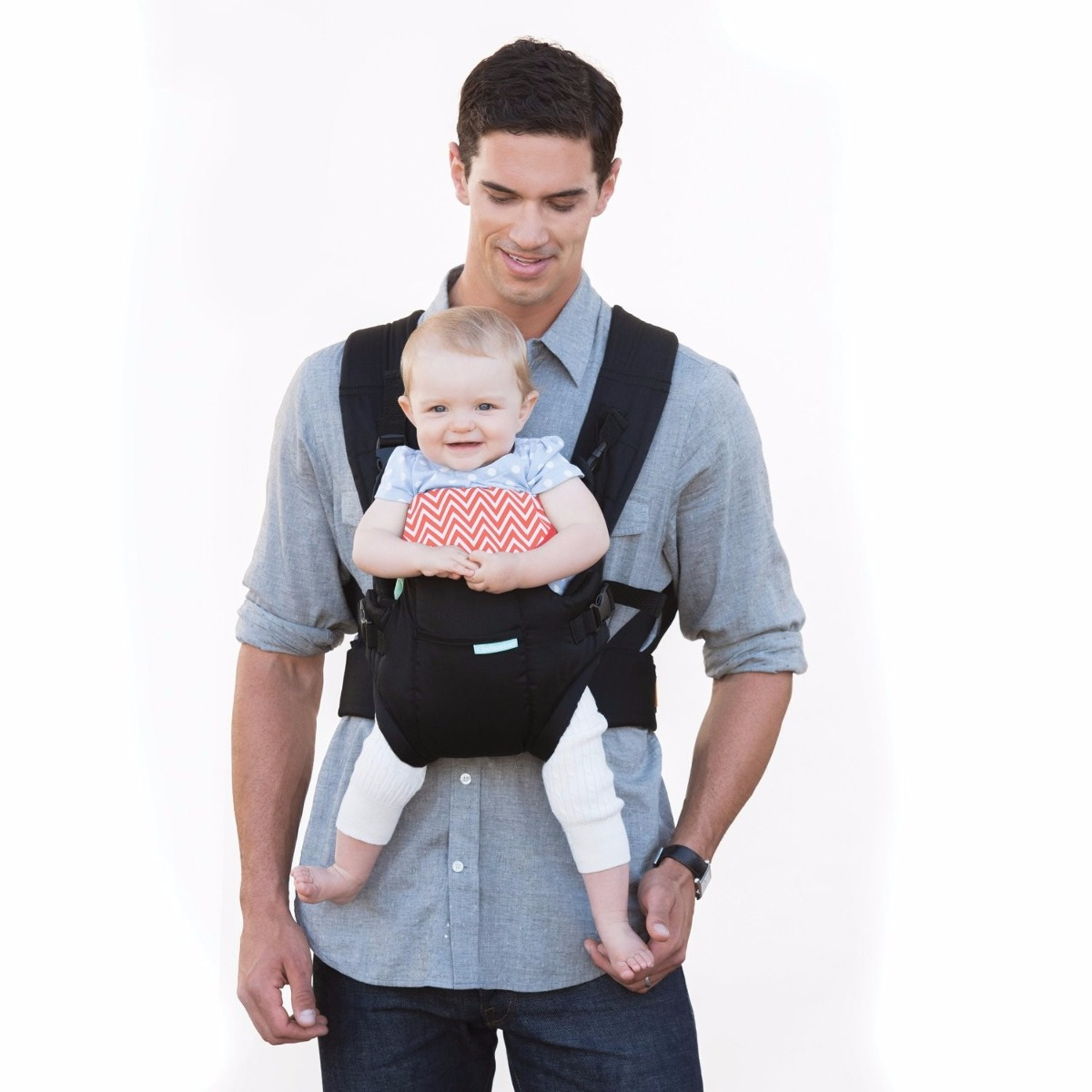 how to wear infantino baby carrier