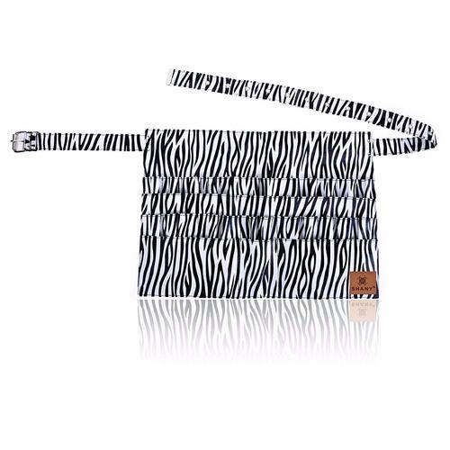 cangurera porta brochas mandil delantal cebra cangurera envi
