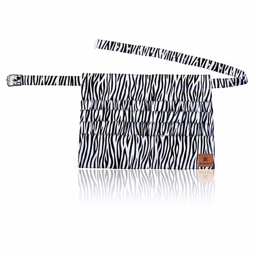 cangurera porta brochas mandil delantal cebra cangurera wt n