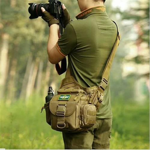 cangurera y mochila lateral táctica militar