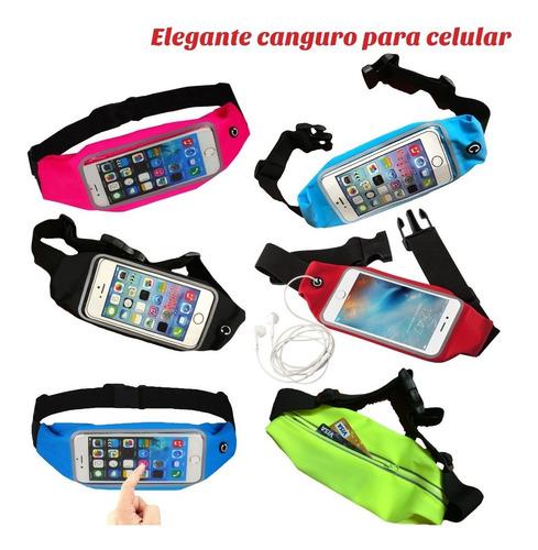 canguro correr ciclismo trekking. para cellular. venta -20%