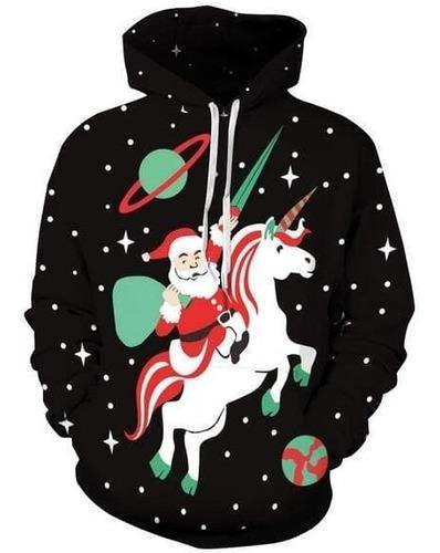 canguro de unicornio con motivos de navidad!