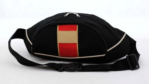canguro deportivo lugano original. negro