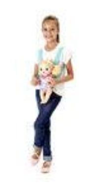 canguru para boneca baby alive estampa ballet pacific