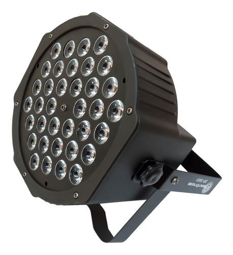 canhão led spectrum rgb sp3601 1watts 36 leds