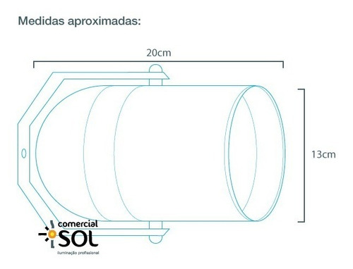 canhão refletor par 38 porta filtro e barndoor spot cenico