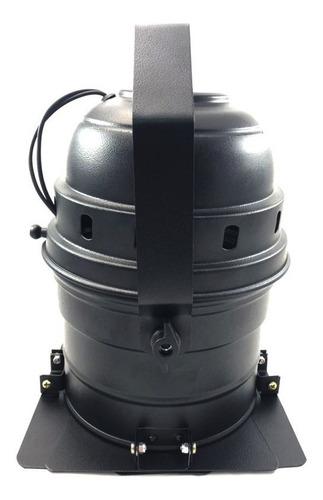 canhão refletor par 56 spot grande com barndoor - e-27