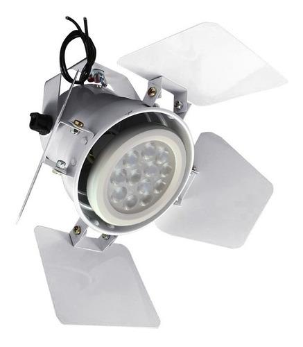 canhão refletor spot branco barndoor lâmpada led 11w bivolt