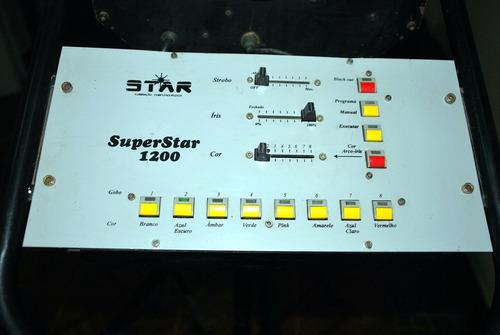 canhão seguidor superstar 1200 watts