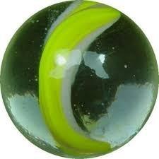 canica de la buena de vidrio