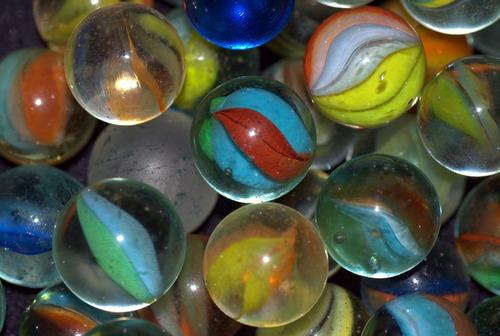 canicas bolitas de vidrio por unidad