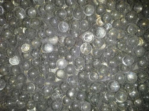 canicas de vidrio transparente ideal souvenir centro de mesa