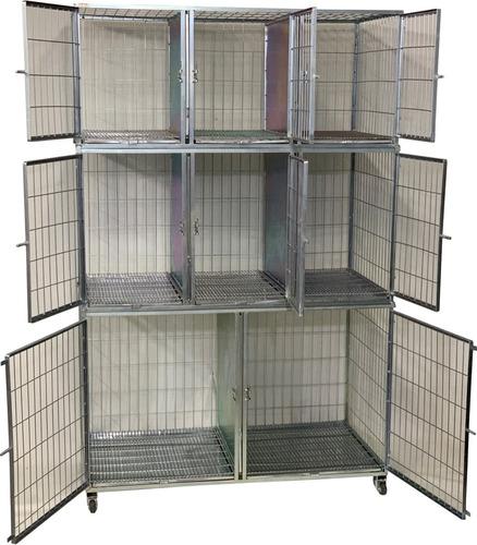 canil de 8 grande c/3 modulos, pet shop,banho tosa cao gato