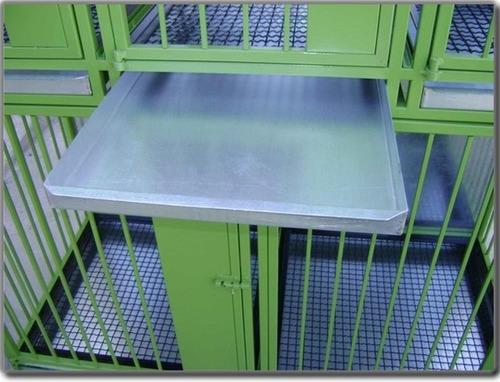 canil de fierro galvanizado para 09 animales uso veterinario