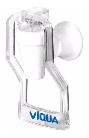 canilla 1 agua plastica para dispenser cristal viqua 1220302
