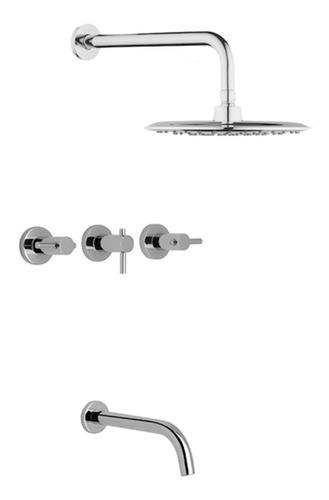 canilla bañera con transferencia hdr705111 hydros  pintumm
