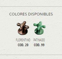 canilla jardín robinet ardilla colores florentino/patinado