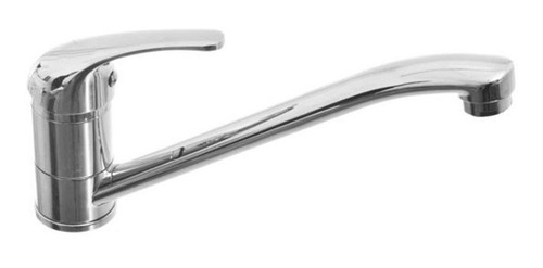 canilla metal griferia monocomando cocina mesada + flexibles
