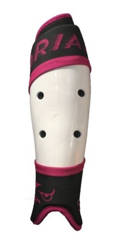 canillera anatomica hockey talle s - m - l  drial