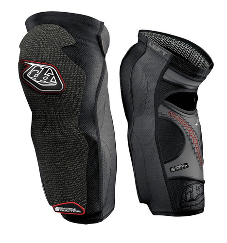canillera/rodillera troy lee designs 5450 larga negra xs