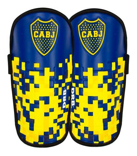 canilleras de fútbol de boca jr. licencia oficial drb