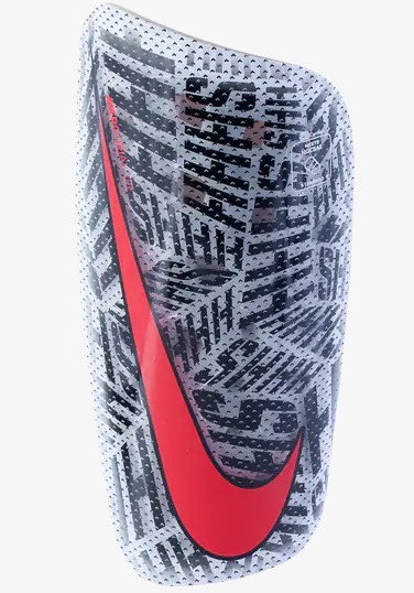 4d8763862674e Canilleras Shin De Fútbol Nike Njr Mercurial Lite -   2.000