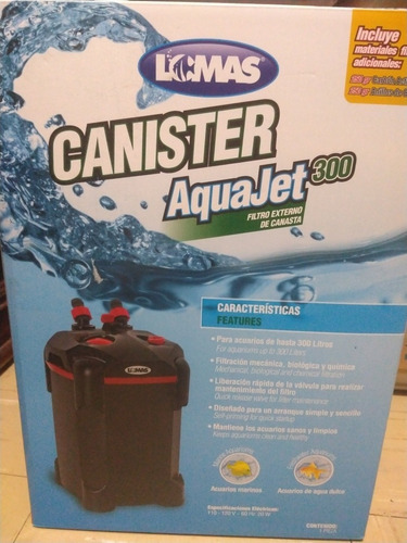 canister lomas aquajet 300