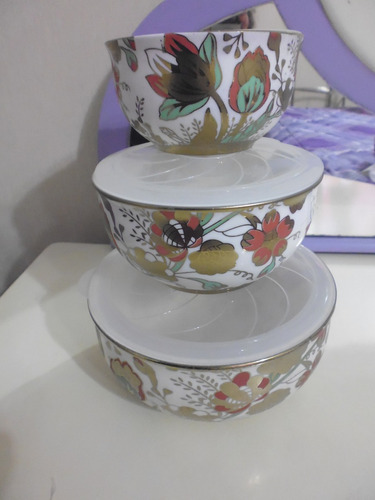 canister o envase nuevo vidro con tapa loza en  pajarito