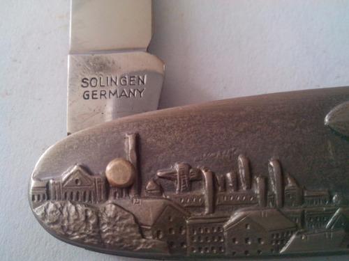 canivete armex solingen germany stainless 2 funções zeppelin