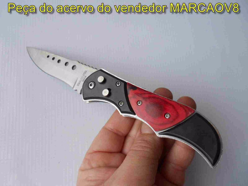 canivete automatico c/ trava de segurança 21 cm comprimento