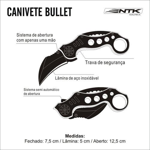 canivete bullet - nautika
