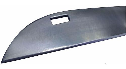 canivete cabo aluminio com presilha bolso lamina inox 18 cm